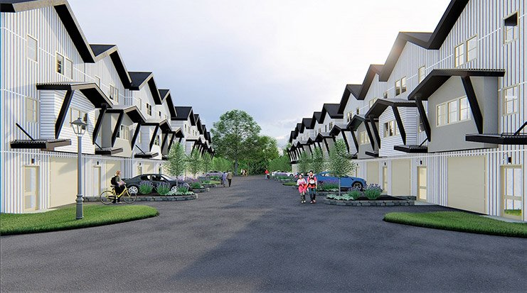 Solstice Townhomes Community