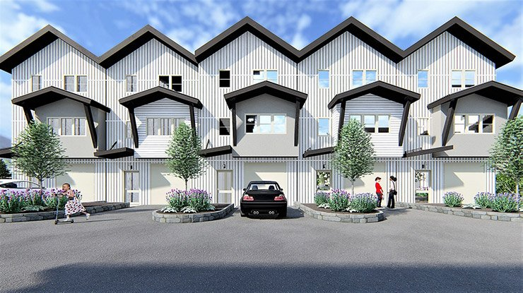 Solstice Townhomes - Set along the Roaring Fork River Valley near Aspen Valley